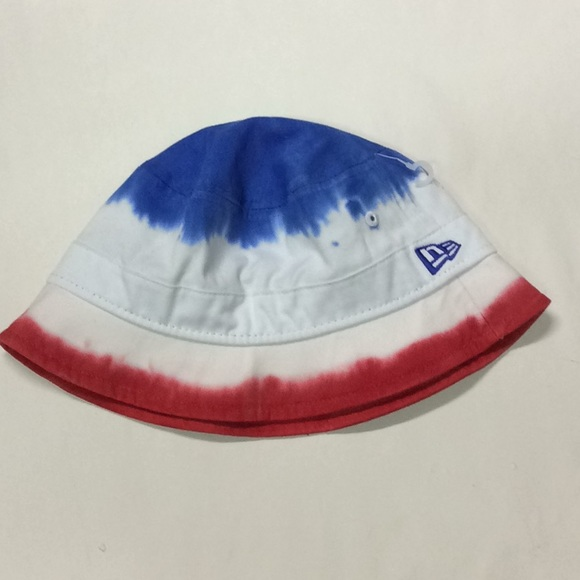 de0a1d370 Red white and blue new era bucket hat